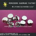 6*6mm h62 de latón de cabeza doble cinturón de cuero remache clavos proveedor en china