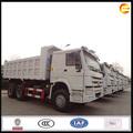 eje 3 28 toneladas de descarga de camiones de servicio pesado de camiones volquete