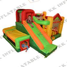 mini mini trampolín castillo inflable partido gorila familia inflable