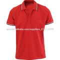camisas de polo de color rojo de estilo clásico