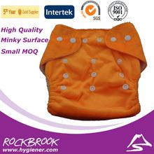 de alta calidad y precio competitivo de velcro lavable bebé pañal de tela al por mayor de china