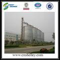 fazenda de milho silos de armazenamento