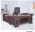 antiguo 2014 conectado moderno de madera director de la oficina de mesa