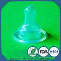 Ráfaga vende pezones de silicona biberones, tetinas de silicona para el bebé, pezón de silicona de calidad alimentaria