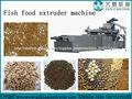 Fabricación de alimentos para peces flotando máquina extrusora