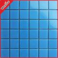 mosaico cristalino azul