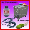 gas a presión de vapor a 20 bares portátil móvil vapor lavado de autos jet