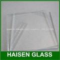 exportación de vidrio ultra claro, vidrio bajo en hierro