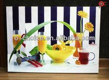 Wk-32 moderno para el hogar decoración de la pared de la fruta lienzo de pintura de acrílico