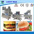 Carne Carne Industrial Arroz automática hamburguesa Patty que forma la máquina