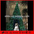 géant en plein air pvc arbre de noël décoration pour faire du shopping mall