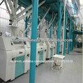 máquina de molino de harina de trigo, pequeña capacidad de la planta de molienda de harina de buena calidad