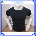 Lycra surf t- camisa dos homens do algodão lycra t- camisas de lycra manga curta t- shirt
