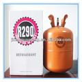 13.2lb/6kg, 22lb/10kg r290 propano refrigerante del precio del gas para la venta de la propiedad superior y el precio en r290