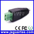 bloque de terminales de alimentación de cc conector hembra para cable conectado