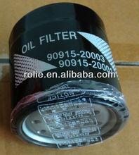 Toyota auto del filtro de aceite, 90915-20003,90915-20001