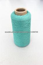 hilados de algodón de seda