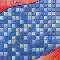 LS04 Goldline vidrio verde combina azulejo mosaico piscina pegamento