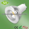 CE ROHS SAA aprobado regulable 5W GU10 LED 3000k