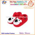 moda barata lindo bebé tejer sandalias