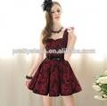 Pretty Steps 2014 vestido de dama de fotos elegante varios/guangzhou fabricante de prendas de vestir