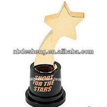 Metálico de alta calidad tazas, piezas de plástico, montado en caliente- la venta, recuerdos baratos estrella trofeo