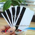 de alta calidad de banda magnética hico de inyección de tinta de la tarjeta en blanco para impresoras de inyección de tinta