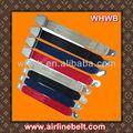 cinturón de seguridad del avión