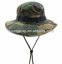 ajustable de camuflaje boonie sombreros sombreros del cubo