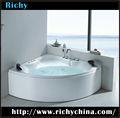 tamaño portátil acrílico ovalado masaje fabricantes bañera
