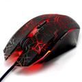 nueva llegada lbots wrangler con conexión de cable del ratón lol gaming mouse respiración luz usb 4000 dpi