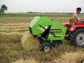 mini round hay baler