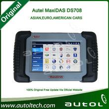 Sistema de Autel MaxiSys Pro Automotriz de diagnóstico y análisis del sistema Android de varios actualización de idioma del DS70