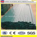 valla metálica posterior fabricación