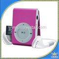 Reproductor Música Clip Mp3 Ranura Micro Sd Audio Led Usb Musica