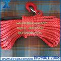 Linha 100% sintético de fibra 12strand corda guincho