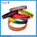 pulseras de silicona con muchos colores
