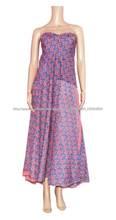 bloque de impresión diseño último vestido vestido de mujer