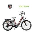 Popular 26 pulgadas 250W bicicleta eléctrica barata con CE