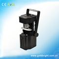 China discoteca luz 20w cree led ultra brillo rgbw 4-in-1 gobo equipo de dj baratos con canales 14 leko led gobo escáner