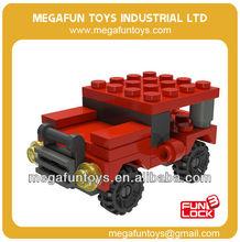FUNLOCK 41pcs bloque de plástico ladrillos edificio situado últimos juguetes para los niños