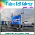 PANTALLA MÁGICO PARA EXTERIOR E INTERIOR!!!!VISTOSO LED DE EXTERIOR PARA RENTAR, P6.944 HERMOSO EFECTO DE IMAGENES