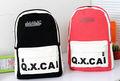 lona niñas moda mochila escolar Mochilas