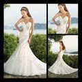 2013 sirena de encaje apliques de organza vestido de novia sexy falda de estilo occidental fabricante del banquete de boda r110