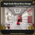 de moda de calzado decoración tienda ideas