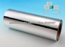Silver PET Laminación térmica Cine