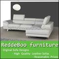 L baratos sofá-forma& design moderno sofá de couro& móveis loja 8338-1