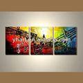 venta caliente moderno lienzo pintura de la música para la decoración