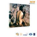 Hermosa mujer desnuda chica pintura de la pared imagen sexy foto decoración