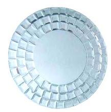 redondo espejo de la pared
